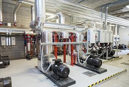Climatizzazione Estiva Stabilimento Produttivo Technogym Cesena